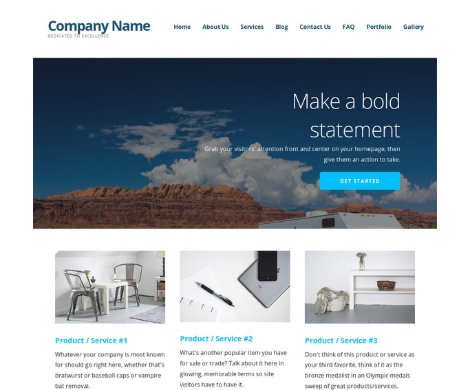 Ascension RVs and Trailers WordPress Theme