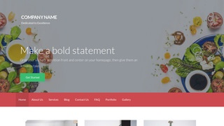 Activation Salads WordPress Theme