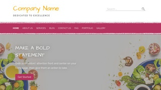 Scribbles Salads WordPress Theme