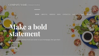 Velux Salads WordPress Theme
