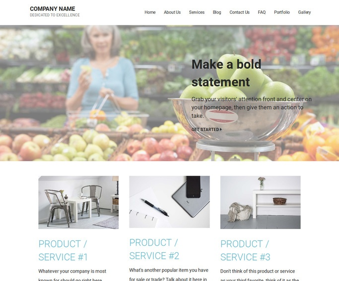 Mins Scale Supplier WordPress Theme