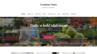 Uptown Style Scale Supplier WordPress Theme