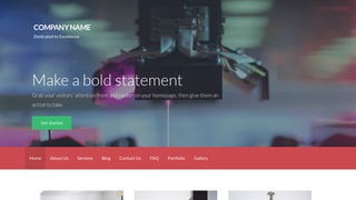 Activation Scientific Laboratory WordPress Theme