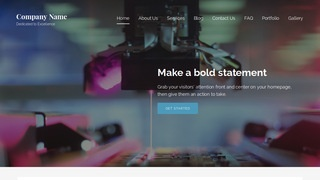 Lyrical Scientific Laboratory WordPress Theme