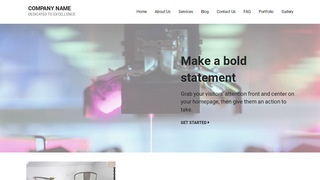Mins Scientific Laboratory WordPress Theme