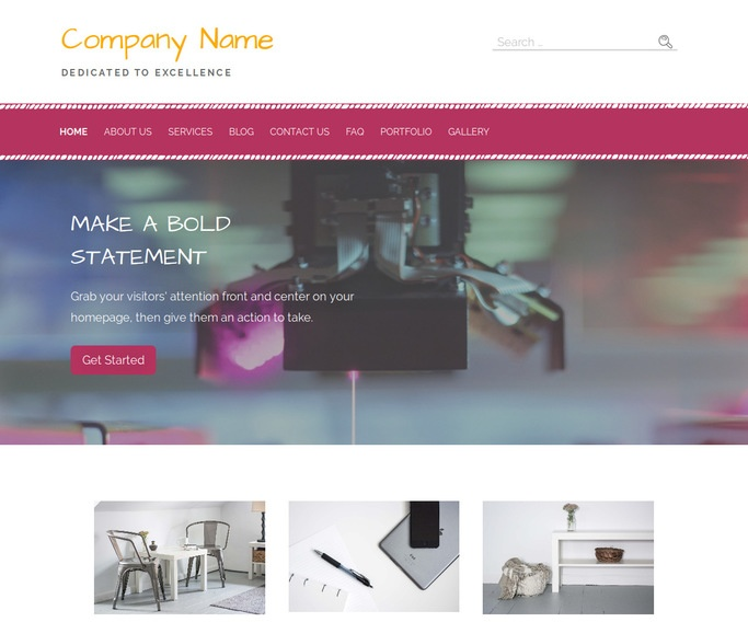 Scribbles Scientific Laboratory WordPress Theme