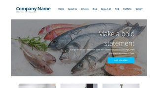 Ascension Seafood Restaurant WordPress Theme