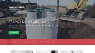 Activation Septic Tanks and Systems  WordPress Theme