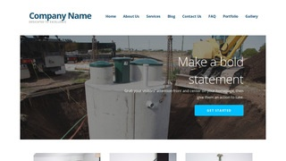 Ascension Septic Tanks and Systems  WordPress Theme