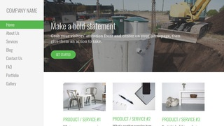 Escapade Septic Tanks and Systems  WordPress Theme