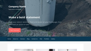 Primer Septic Tanks and Systems  WordPress Theme