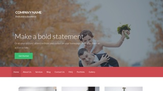 Activation Session Photography WordPress Theme