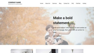 Mins Session Photography WordPress Theme