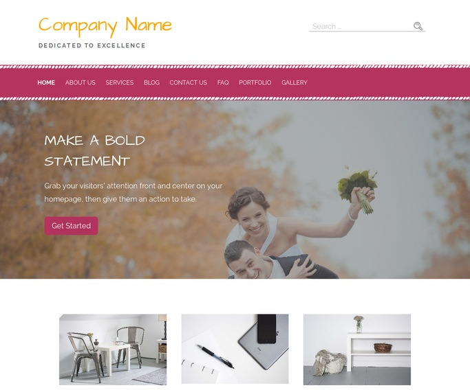 Scribbles Session Photography WordPress Theme