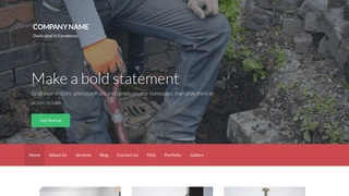 Activation Sewer Contractor WordPress Theme