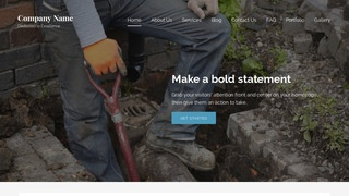 Lyrical Sewer Contractor WordPress Theme