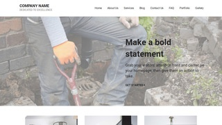 Mins Sewer Contractor WordPress Theme