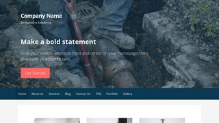 Primer Sewer Contractor WordPress Theme
