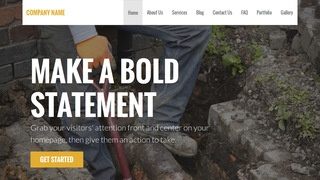 Stout Sewer Contractor WordPress Theme