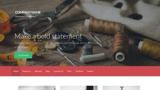 Activation Sewing Shop WordPress Theme
