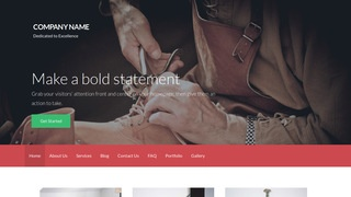 Activation Shoe Repair WordPress Theme