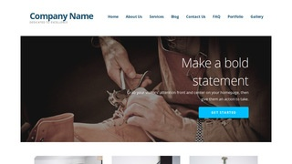 Ascension Shoe Repair WordPress Theme