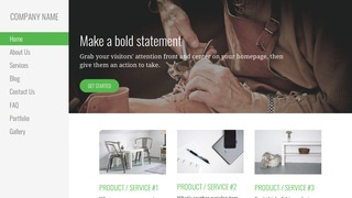 Escapade Shoe Repair WordPress Theme