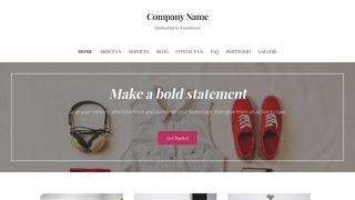 Uptown Style Shopping WordPress Theme