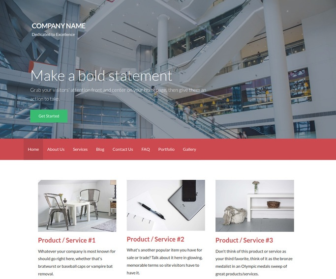 Activation Shopping Mall WordPress Theme