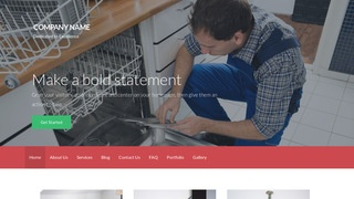 Activation Small Appliance Repair WordPress Theme