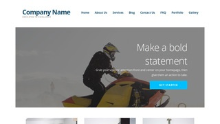 Ascension Snowmobiles WordPress Theme