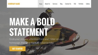 Stout Snowmobiles WordPress Theme