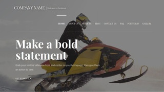 Velux Snowmobiles WordPress Theme