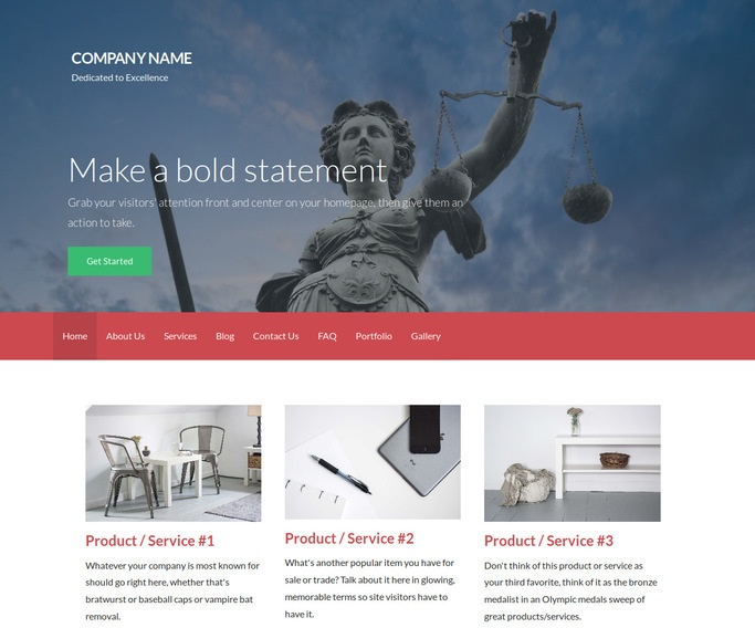 Activation Social Security Law WordPress Theme