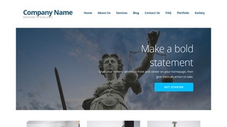 Ascension Social Security Law WordPress Theme