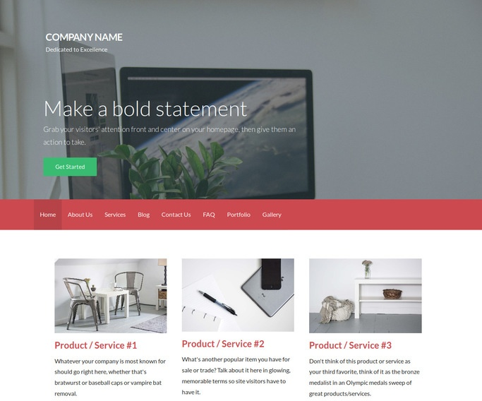 Activation Software Company WordPress Theme
