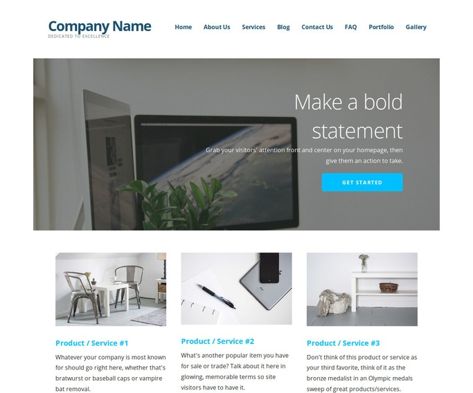 Ascension Software Company WordPress Theme