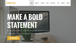 Stout Software Company WordPress Theme