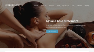 Lyrical Spa WordPress Theme