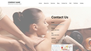 Mins Spa WordPress Theme