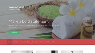 Activation Day Spa WordPress Theme