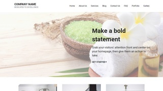 Mins Day Spa WordPress Theme