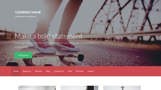 Activation Sporting Goods WordPress Theme