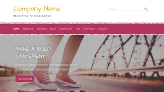 Scribbles Sporting Goods WordPress Theme