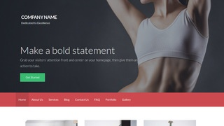 Activation Sports Massage Therapist WordPress Theme
