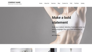 Mins Sports Massage Therapist WordPress Theme