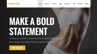 Stout Sports Massage Therapist WordPress Theme