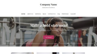 Uptown Style Sports Clothing and Apparel WordPress Theme