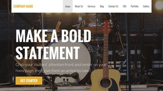 Stout Stage Lighting Equipment Supplier WordPress Theme