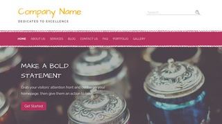 Scribbles Stained Glass WordPress Theme
